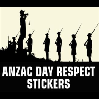Anzac Day Stickers